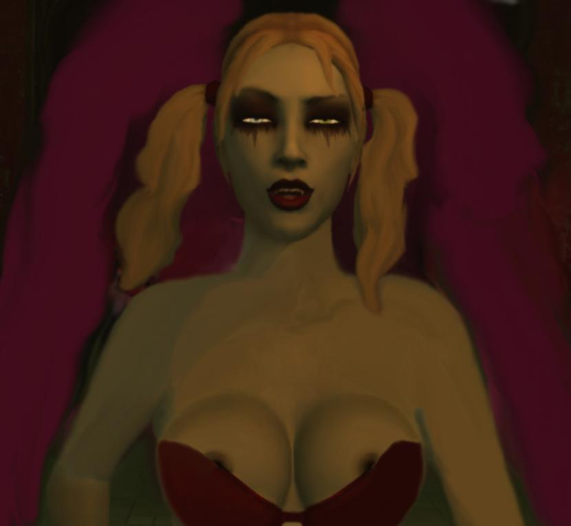 outfits bloodlines masquerade vampire female the Ellie trials in tainted space