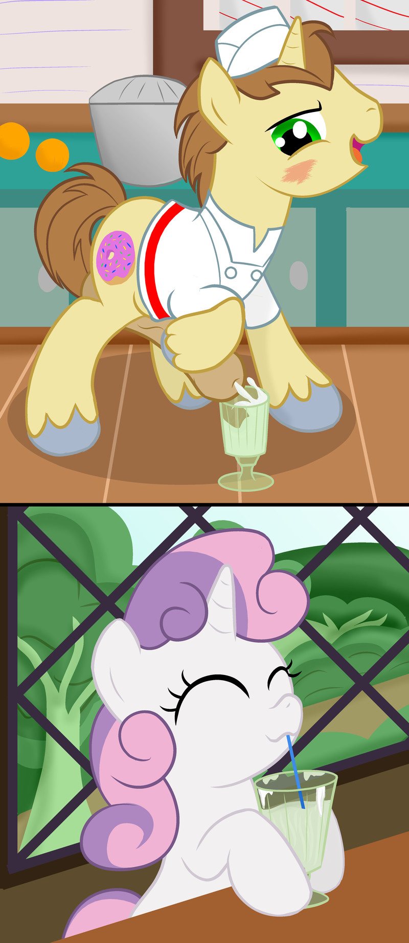 little sweetie pony belle my The devil is a part timer