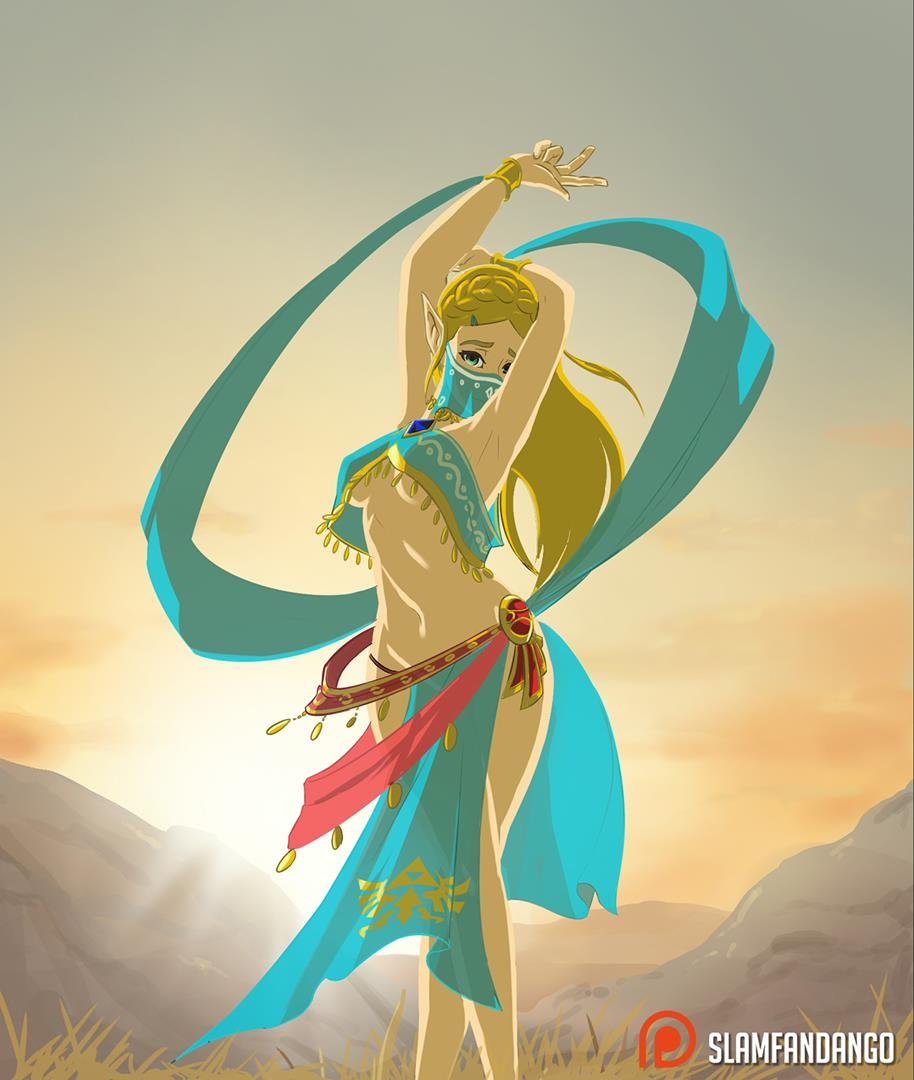 breath male wild the gerudo of 6 paths of pain naruto