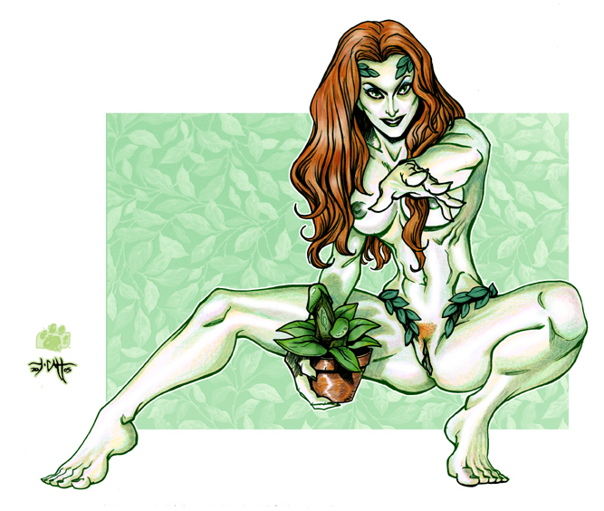 pics sexy poison of ivy Five nights in anime the novel game