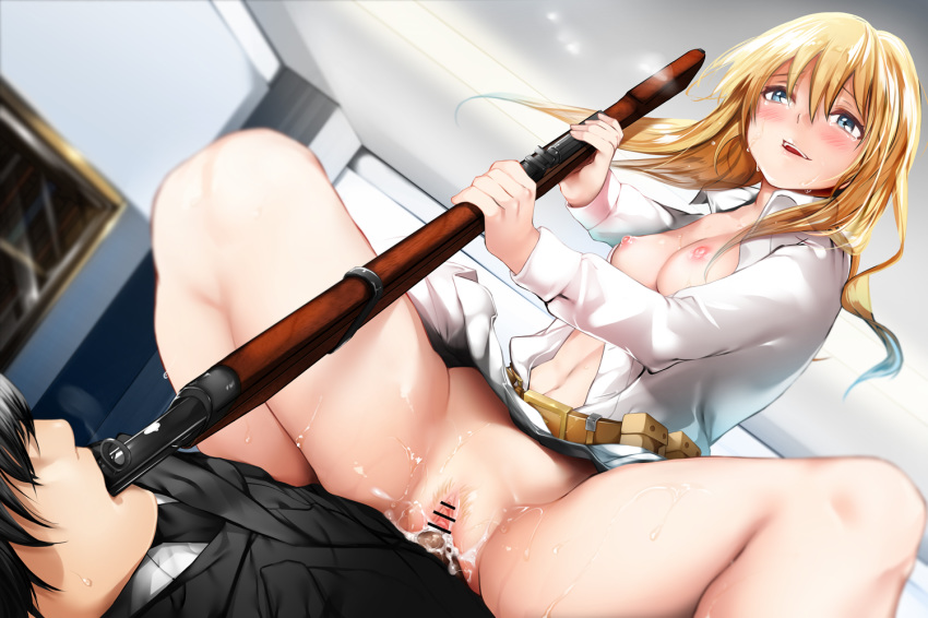 an-94 girls frontline Gravity rush kat and syd
