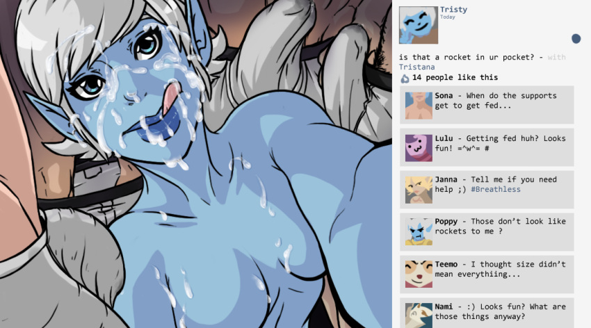 legends league naked sona of Everybody loves large chests 4