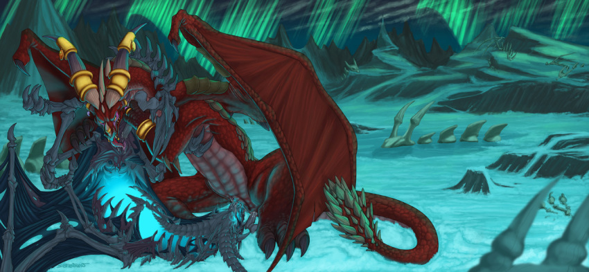 dragon red of world warcraft Hinox link to the past