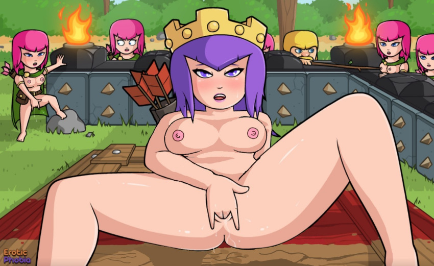 clash in clans of valkyrie Blair the witch soul eater