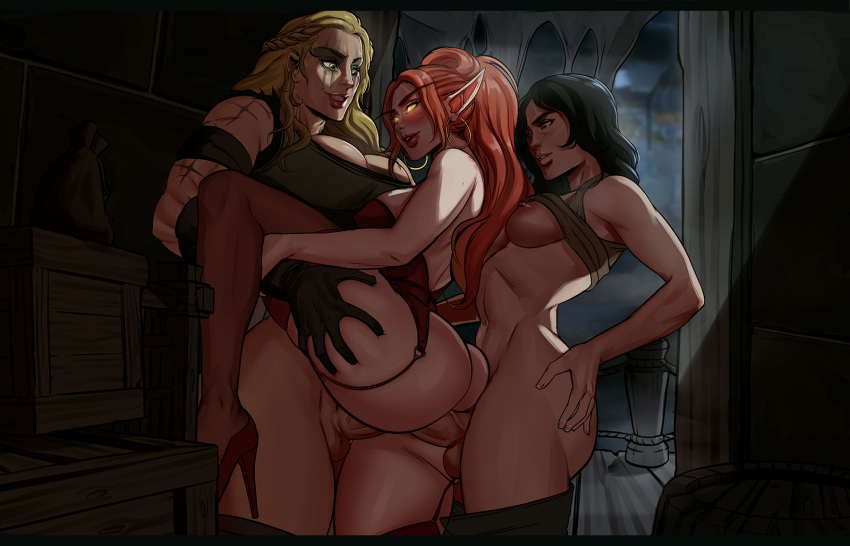 glowing green demon eyes with Family guy lois griffin nude